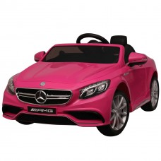 SparkFun Licensed Mercedes Benz AMG S63 2.4Ghz Remote Control Electric Child Toy Ride on Cars for Kids to Drive with EVA Wheels