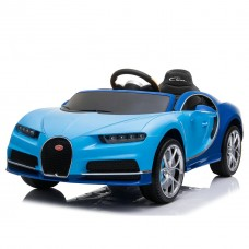 SparkFun New Licensed Bugatti Chiron Children Toy Car 12V Kids Electric 0utside Ride on Car