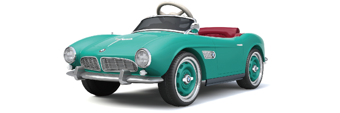 SparkFun Classic Licensed BMW Children Toy Car