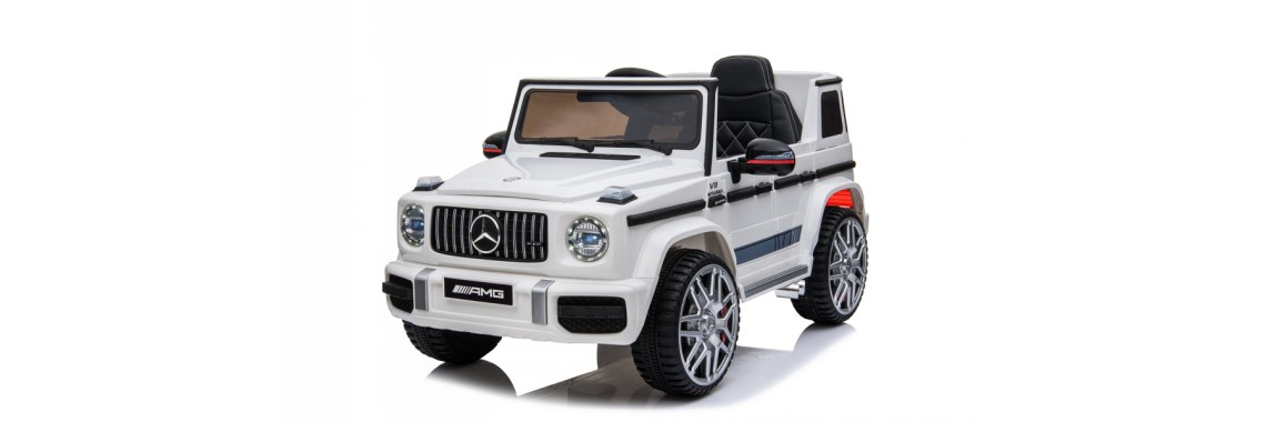 SparkFun Licensed Mercedes Benz G63 AMG Kids Ride on Toy Cars