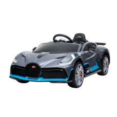 SparkFun New Licensed Bugatti Divo Scissor Doors Battery Powered Ride on Electric Toy Cars for Kids to Drive with Leather Seat