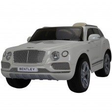 SparkFun Licensed Bentley Bentayga Children Toy 2.4G Remote Control 12V Electric Kids Ride on Toy Car with Leather Seat